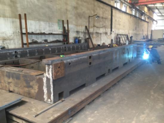 Entrent dans HANS GS notre chaîne de production de découpeuse de laser