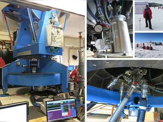 DSTI joue le rôle dans la recherche en matière d'astrophysique de Pôle du sud