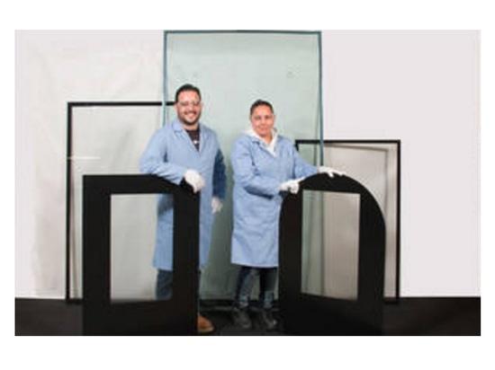 """Grand 84"""" écran diagonal de HI-OD a imprimé les solutions en verre d'affichage"""