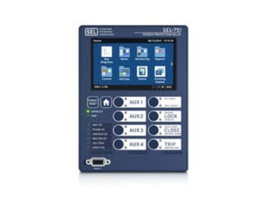 SEL ajoute l'affichage d'écran tactile au relais de protection du conducteur SEL-751