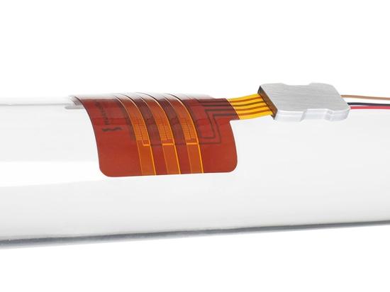 Capteur de flux thermique de l'aluminium FHF01