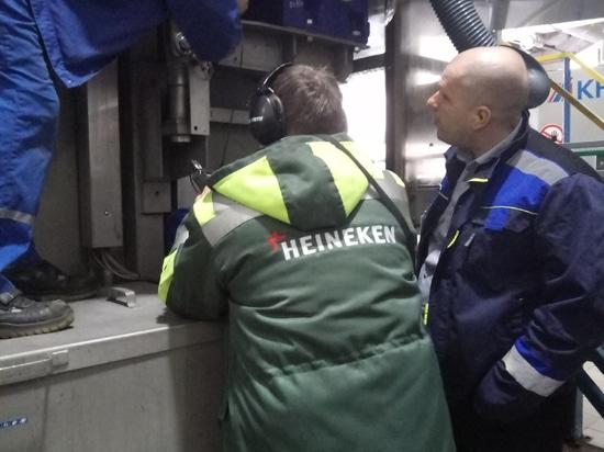 Le nouveau projet avec Heinekken a avec succès accompli !