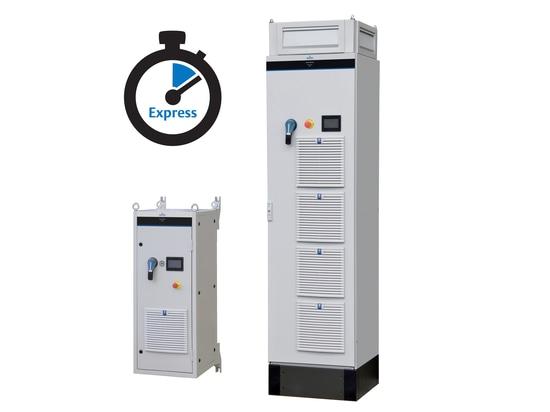 Powerdrive MD2, un variateur de forte puissance prêt à l'emploi proposé en Disponibilité Express