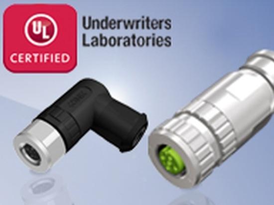 L'approbation d'UL pour les connecteurs M8x1 et M12x1 de CONEC mettent en place connectable