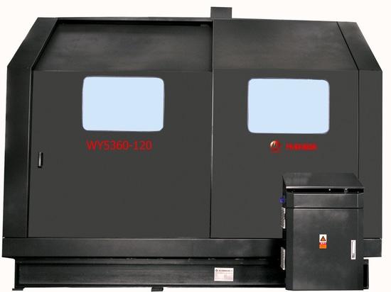La bande automatique verticale a vu (VLA) le type WY5360-120 pour l'aluminium