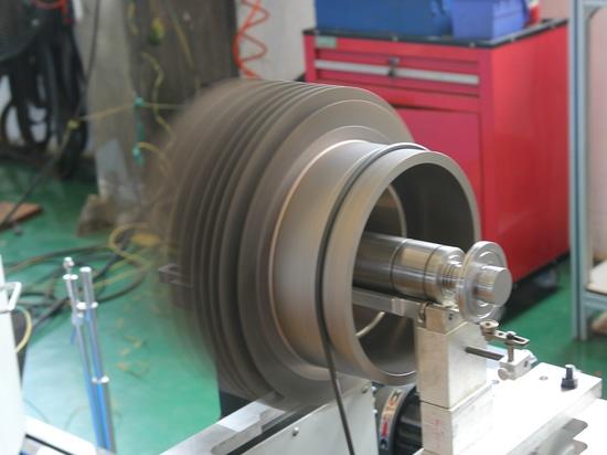 Machine de équilibrage de pompe de Turbo