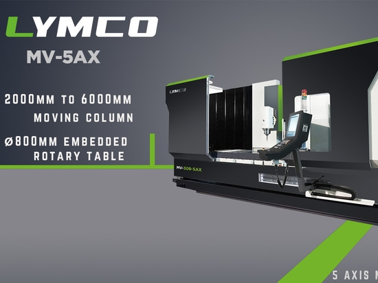 Augmentez votre efficacité avec le centre de fraisage de l'axe de LYMCO 5