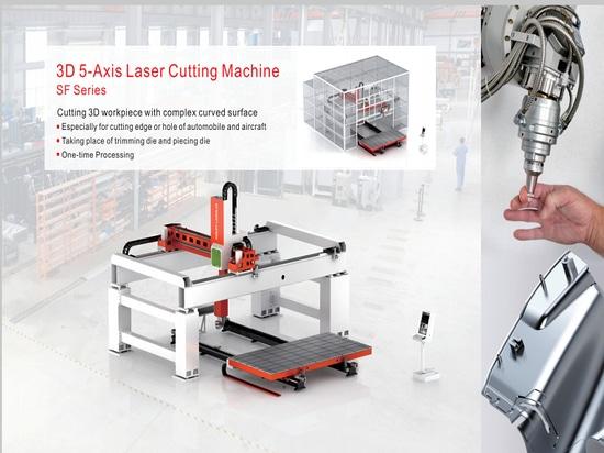 découpeuse de laser de 3D 5-Axis