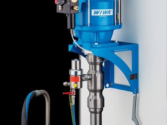 Optimisé pour série résistante 270 PRIVÉS D'AIR de WIWA-Pompe de protection de corrosion la nouvelle