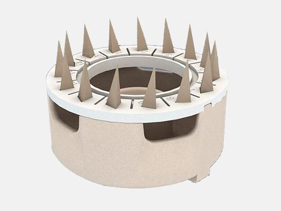 Structure unique pour 15 échantillons