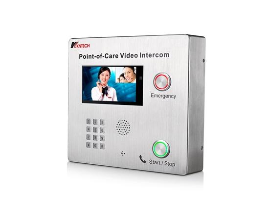 Téléphone visuel bi-directionnel d'interphone de la PETITE GORGÉE KNZD-70