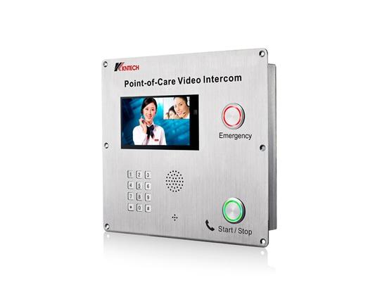Téléphone visuel bi-directionnel de l'inercom KNZD-70