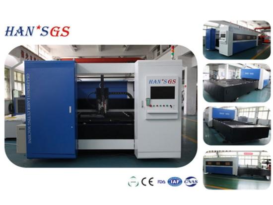 Structure de portique de découpeuse de laser de fibre de HANS GS de stable et fiable ultra-rapides
