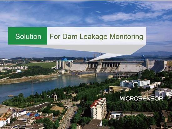 Solution pour la surveillance de fuite de barrage
