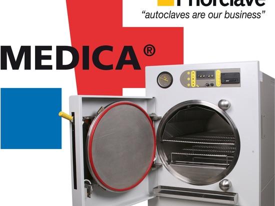 Autoclaves de rendement optimum de Priorclave chez Medica