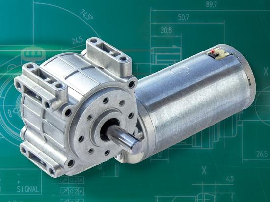 Le moteur de Bühler indique son engrenage à vis sans fin
