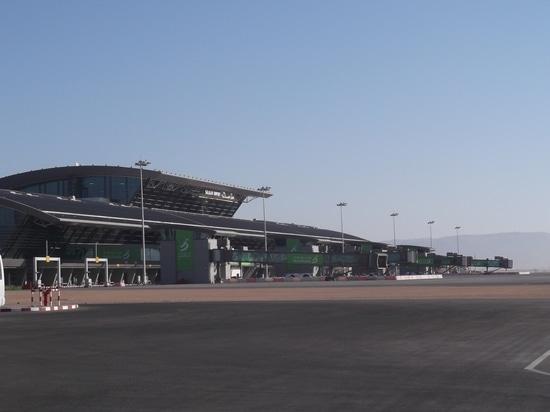 Bâtiment d'usine de Galaxie pour 560 l/s à l'aéroport de Salalah