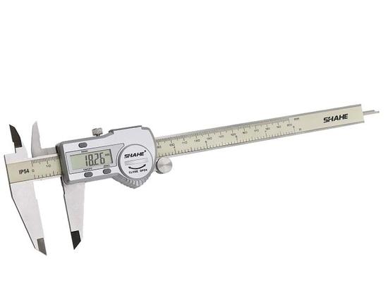 Calibre IP54 de SHAHE/5000-200 0-200mm 0.01mm ±0.03mm/Digital