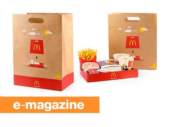 McDonald BagTray : Le sac à emporter qui devient un plateau