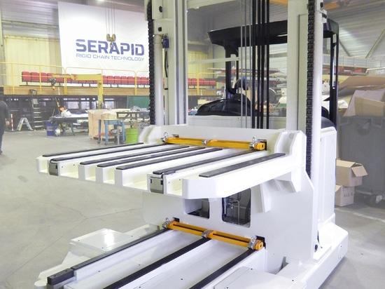Chariot double poste à conducteur porté SERAPID