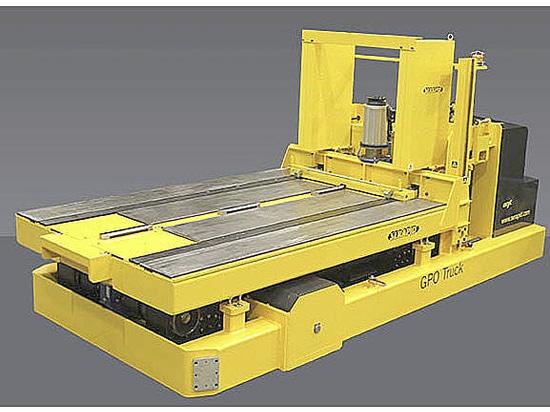 Gerbeur porte outil d'une capacité de 20 tonnes totalement électrique
