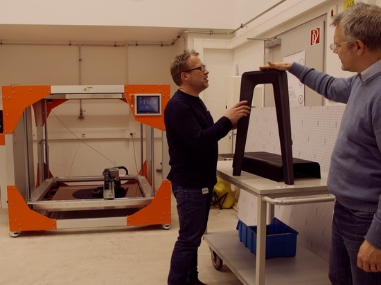 Prototype complet de meubles chez Steelcase