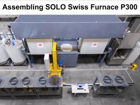 Four suisse SOLO – se réunissant – démontant en 51 jours