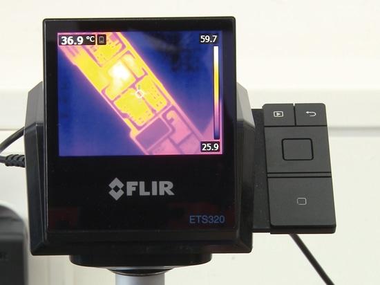 La formation d'images thermiques accélère la réparation des cartes électronique