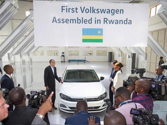 VW met en marche l'assemblée à Kigali