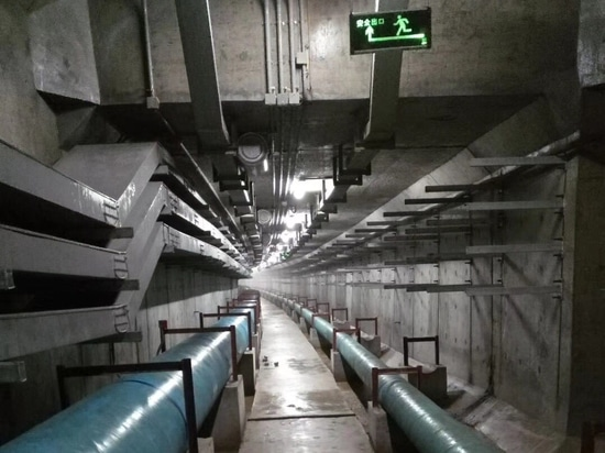 Téléphone industriel de J&R VoIP pour la galerie de canalisations souterraine
