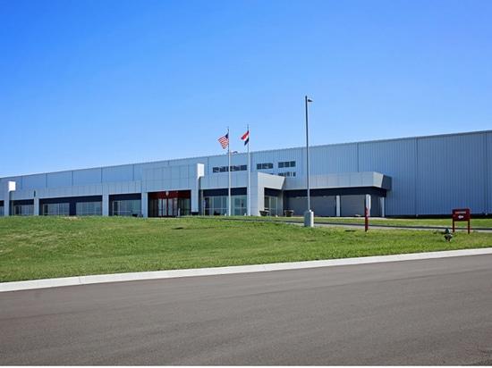 Nouvelle installation industrielle d'équipement de la chaleur et de la nourriture du contrôle, Missouri, USA
