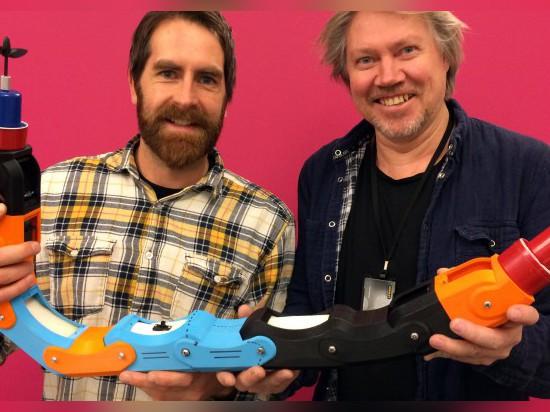 ROBOT de l'EAU IMPRIMÉ par 3D PIPE-INSPECTION