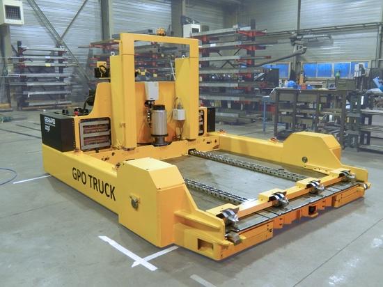 Meurent l'empileur (camion de GPO) pour la basse taille de manipulation, la capacité 20T