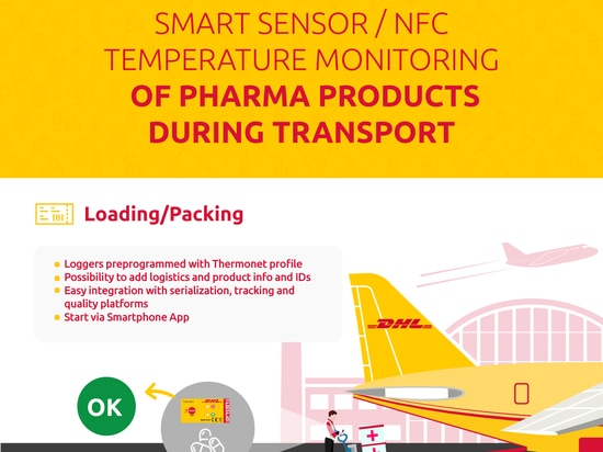 DHL Global élabore des solutions innovantes de surveillance de la température en coopération avec Blulog pour optimiser les process de la supply chain