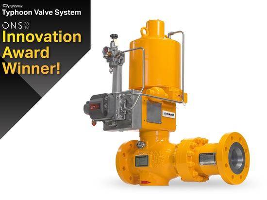 Le système de valve d'ouragan gagne la récompense de l'innovation ONS2018