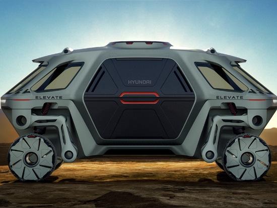 Le concept de marche de voiture de Hyundai est l'avenir de la première industrie de répondeur