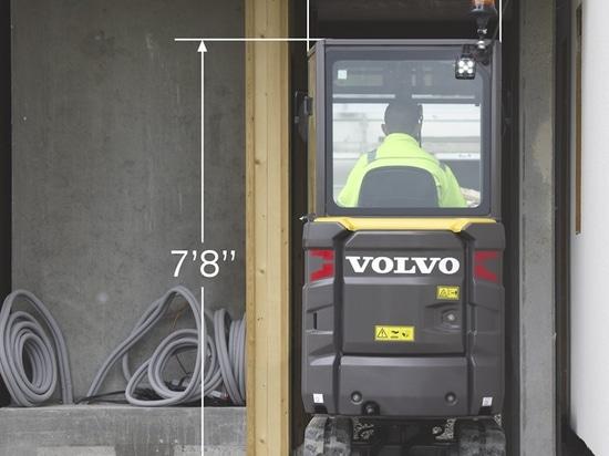 Volvo met à jour EC20E, ajoute ECR18E à la ligne
