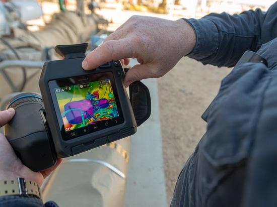 Caméra GF77 non refroidie pour la détection de méthane