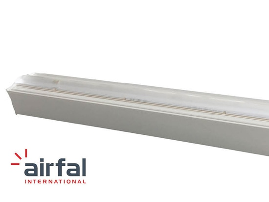Airfal se spécialise dans l'éclairage des supermarchés