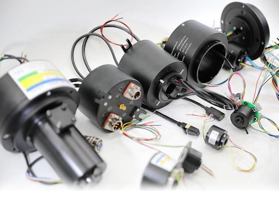 Ensembles de bague collectrice pour des antennes de radar