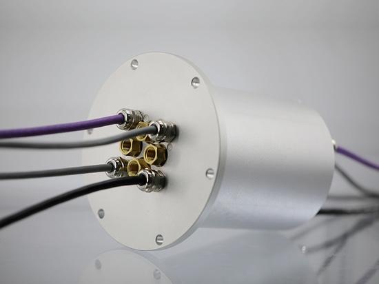Perspective d'application de la bague collectrice dans l'équipement d'automation mécanique