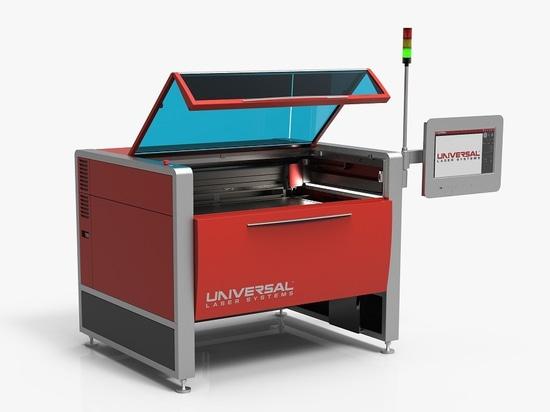 La machine effectue la découpe laser, l'ablation et la modification de surface