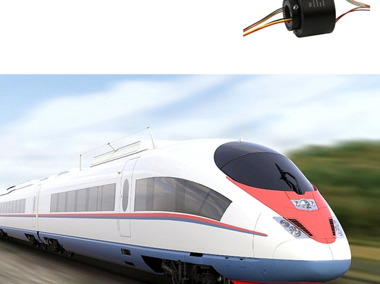 Bague collectrice pour train à grande vitesse