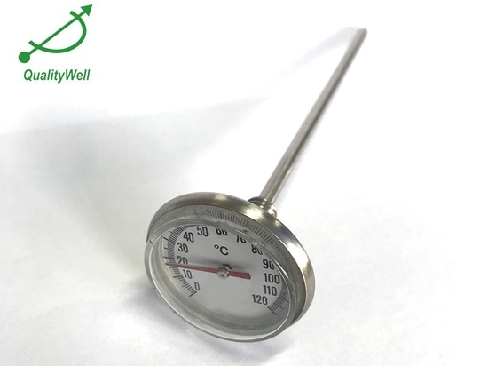 Entretien et mise en garde du thermomètre bimétallique