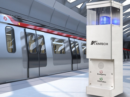 passager aide point / video interphone / appel d'urgence stations / téléphone console projet de métro