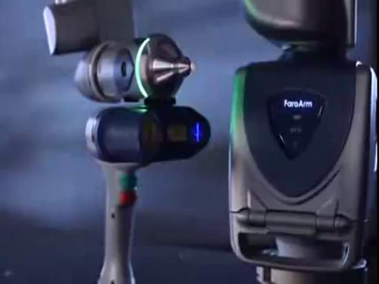 Bras de mesure de Scanarm HD de bord de FARO : Vidéo de produit