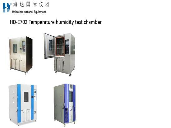 Chambres de la température constante et d'humidité