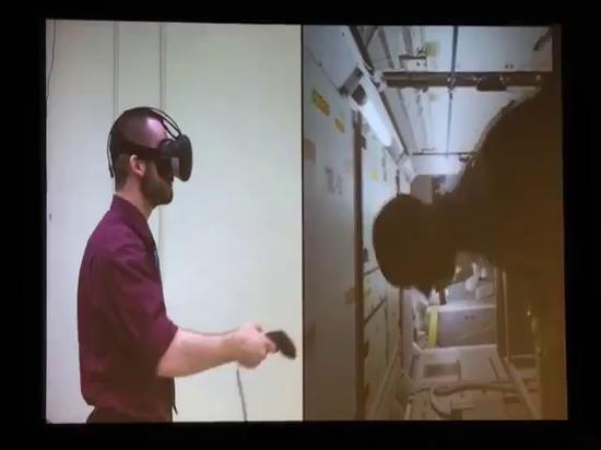 La NASA sur la formation de VR pour la Station Spatiale Internationale et la réalité de Hyrbid