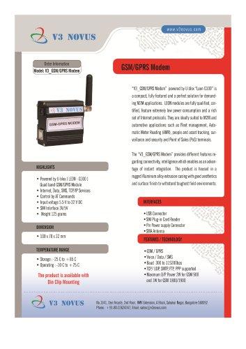V3_GSM/GPRS MODEM_USB