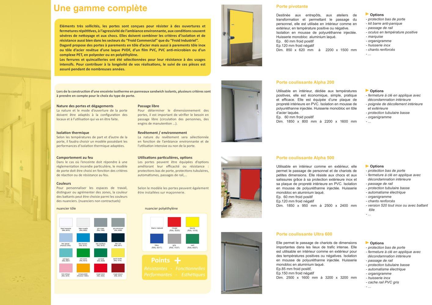 Portes - DAGARD - Catalogue PDF | Documentation technique | Brochure